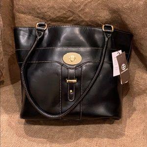 NEW Giani Bernini black tote bag with tags